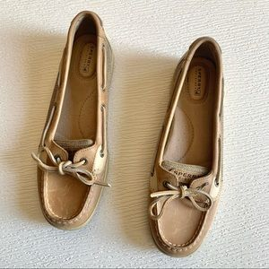 Sperry Top-Sider Brown Leather Boat Shoes 9.5